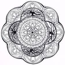 45 free colouring pages mandala u0026 abstract reduce stress