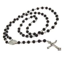 bead cross necklace images Bead cross pendant necklace images jpg