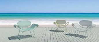 Patio Furniture San Antonio Bright Patio Furnishings Give Flowers Some Competition San