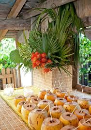 caribbean themed wedding ideas 7 best tropical decor images on tropical party