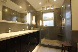 bathroom small narrow bathroom ideas modern double sink