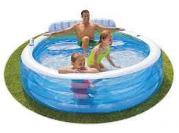 Intex Inflatable Swimming Pool Swim Centre Family Lounge Pool Swimming Pools And Accessories