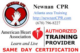 schedule newnan cpr