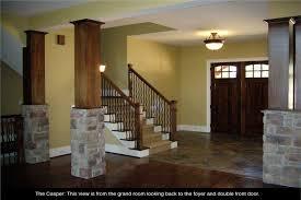 Home Design Kitchen Upstairs 4 Bedrm 6765 Sq Ft Craftsman House Plan 163 1027