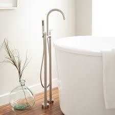 desma gooseneck freestanding tub faucet bathroom