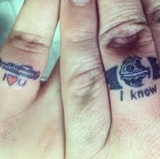 wedding ring tattoos 20 adorable wedding ring tattoos our will endor guff