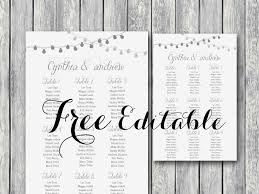 wedding seat chart template free wedding seating chart passionative co
