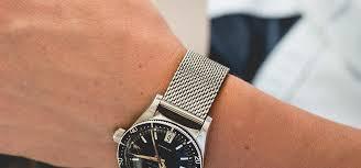 bracelet mesh images Bracelet de montre mesh ou maille milanaise acier inoxydable jpg