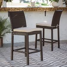 coral coast outdoor bar stools hayneedle
