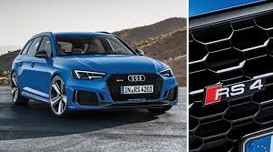 brand new audi rs4 avant announced stable vehicle contracts