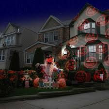 Christmas Projector Light Show by The Virtual Christmas Display Laser Light Projector Hammacher