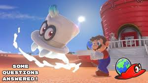 super mario odyssey demo question answers easteregg youtube