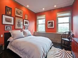 fresh burnt orange paint color living room decor modern on cool