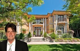 charlie sheen photos inside celebrity homes charlie sheen