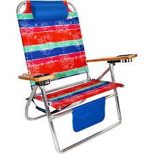 Kelsyus Premium Canopy Chair Red by Titan Big Fish Hi Seat Aluminum Folding Beach Chair Maui Stripe