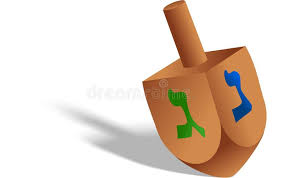 hanukkah toys hanukkah dreidel stock illustration illustration of recreation