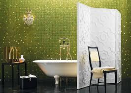 photos hgtv blue green bathroom with mosaic tile bathtub surround