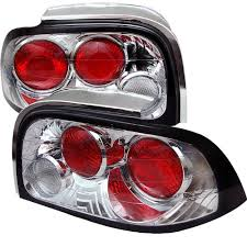 96 98 mustang tail lights spyder ford mustang 96 98 altezza tail lights chrome http