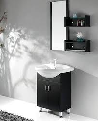 black and white bathroom vanities a high contrast modern bathroom