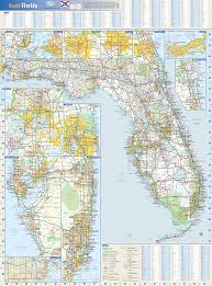 Map State Of Florida by Florida State Wall Map By Globe Turner