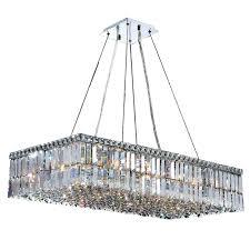 Rectangular Iron Chandelier Chandeliers Rectangle Chandelier Lighting Modern Rectangular