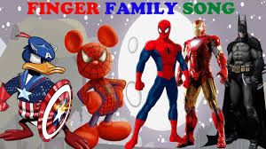Superhero Family Halloween Costumes Mickey Mouse Transform Superhero And Finger Family Song Youtube