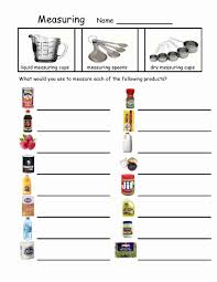 measurements and recipes lessons tes teach