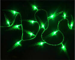 2m 1 6m green willow led curtain string lights garland