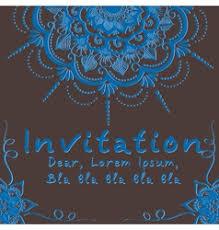 Indian Wedding Invite Indian Wedding Invitation Royalty Free Vector Image