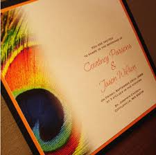 Indian Wedding Invitations Usa Peacock Inspired Wedding Invitation Quotes Invitation Templates
