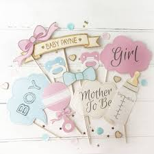 baby shower beautiful baby shower photo booth prop ideas collections photo