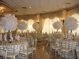 centerpiece rentals nj wedding decor rentals nj centerpiece white ostrich feather indian