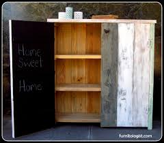 Reclaimed Wood Storage Cabinet Furnitologist Furniture