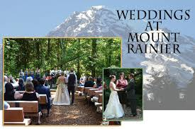 wedding venues in washington state forest retreat cabin at mount rainier wedding receptions family
