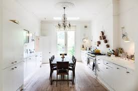 All White Kitchen Designs by All White Kitchen Design With Glam And Rustic Features Digsdigs