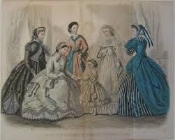 dresses for women and girls 1865 us godey u0027s lady u0027s book