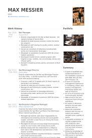 Bar Manager Sample Resume Resume Bar Manager Sample Professional Resumes Sample Online