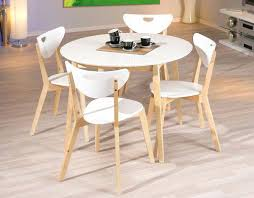 table de cuisine ronde table ronde cuisine table laque blanche pas cher