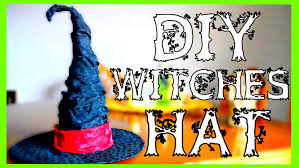 how to make a witch costume how to make a witch hat halloween diy youtube
