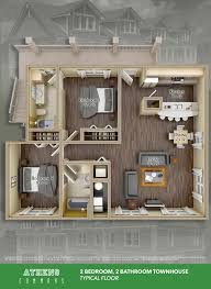 athens commons floor plans site plan