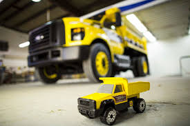Ford F 150 Yellow Truck - full size ford f 750 tonka revealed at ntea work truck show the