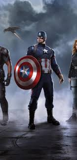 wallpaper captain america samsung 1440x2960 captain america crew in captain america civil war samsung