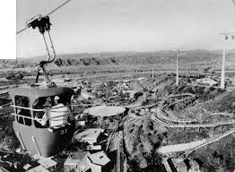 Goldrusher Six Flags Magic Mountain Scvhistory Com Sr9617 Magic Mountain Eagles Flight