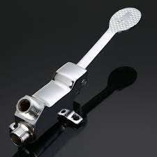 kitchen faucet foot pedal new bathroom foot pedal faucet mayitr single handle foot pedal
