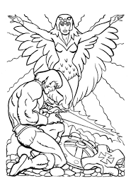 he man coloring pages for kids more pages to color pinterest