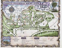 Disney Saratoga Springs Floor Plan Disney World Maps For Each Resort