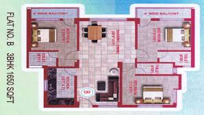 3 bhk 1650 sqft flat on 3rd floor in new pundag u2013 dhurwa u2013 ranchi