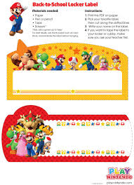 play nintendo locker labels jpg mario brothers printables