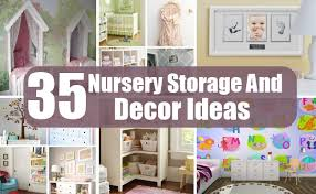 Diy Nursery Decor 35 Nursery Storage And Decor Ideas Diy Home Creative