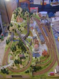 trains for train table 608 best trains images on pinterest model trains model train
